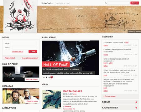 DesignPirates kreatív portál. Megmutatjuk az irányt!
