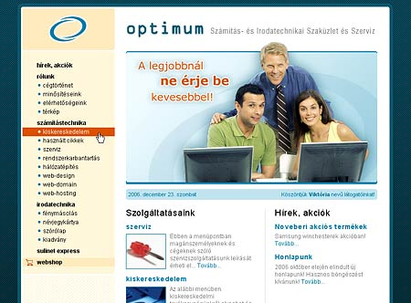 Optimum redesign