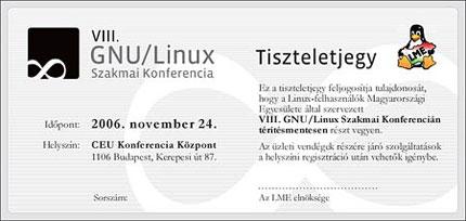 VIII. GNU/Linux Szakmai Konferencia
